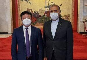 گفتگوی سفرای ایران و چین درباره روابط دوجانبه و تحولات افغانستان