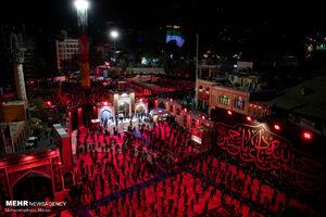 عکس/ مراسم عزاداری شب تاسوعای حسینی در امامزاده صالح (ع)