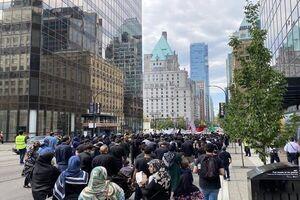 برگزاری راهپیمایی عزاداران حسینی در ونکوور کانادا +عکس