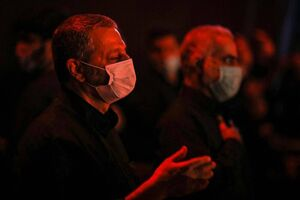 عزاداری شب تاسوعای حسینی(ع) در پادگان ۰۶ ارتش