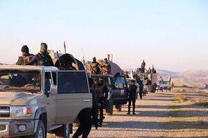عملیات گسترده نیروهای حشدالشعبی علیه بقایای داعش