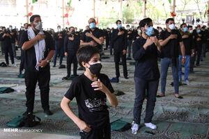 عکس/ عزاداری ظهر تاسوعا در مصلی دانشگاه تهران