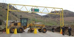 ترافیک در محور کندوان و باران در هراز و فیروزکوه