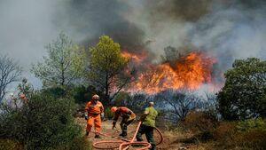 ۲۸ کشته و زخمی بر اثر آتشسوزی در جنگلهای فرانسه
