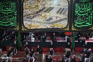 عکس/ حسینیه «آقا سید جمال» میزبان عزاداران