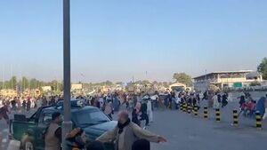 تیراندازی دوباره نیروهای آمریکایی در فرودگاه کابل