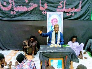 عکس/ عزاداری شیعیان نیجریه در روز عاشورا