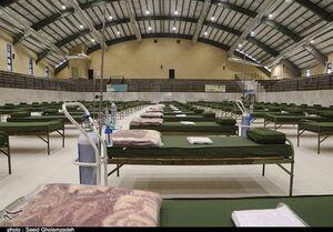 راه اندازی بیمارستان صحرایی در رشت توسط نداجا