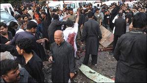 انفجار در میان عزاداران حسینی در پاکستان