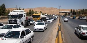 ترافیک سنگین در محورهای هراز و کندوان/ تردد پرحجم خودرو در جاده فشم