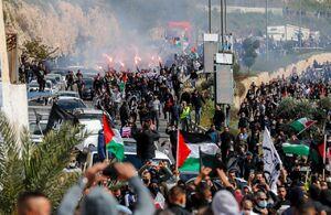 ۱۱۷ فلسطینی در تظاهرات علیه شهرکسازی زخمی شدند