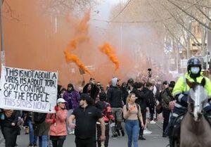 خشم مردم استرالیا از سیاستهای ضد کرونایی دولت +عکس
