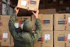 کشف ۳۶ میلیارد تومانی کالای قاچاق