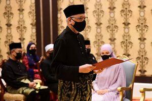 عکس/ نخستوزیر جدید مالزی سوگند یاد کرد
