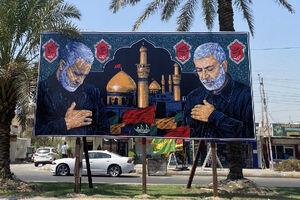 تصویر زیبای حاج قاسم و ابومهدی در بغداد