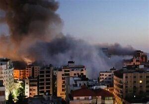 حمله جنگنده های رژیم صهیونیستی به نوار غزه +فیلم
