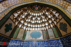 عکس/ یکی از زیباترین بناهای تاریخی سمنان