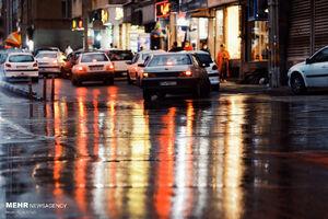 ادامه بارش باران تا اواسط هفته در برخی نقاط