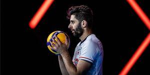 تمجید کاپیتان جدید تیم ملی والیبال از عطایی