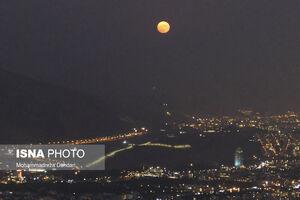 عکس/ پدیده نجومی ماه آبی