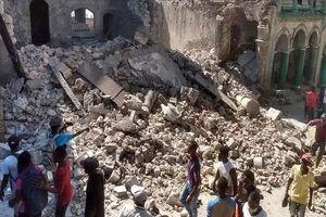 تلفات زلزله هائیتی به ۲۲۰۷ نفر افزایش یافت