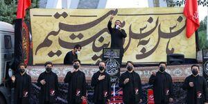 مداحی حدادیان در بیمارستان بقیهالله به مناسبت روز پزشک + عکس