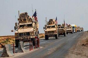 فیلم/ حمله به کاروان نظامیان آمریکایی در بابل عراق