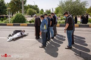 عکس/ پرسه مرگبار کرونا در قزوین