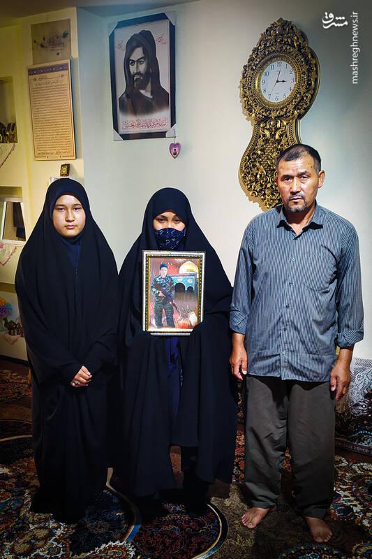 پدر شهید: چرا فرزندانم حق زندگی ندارند؟! + عکس
