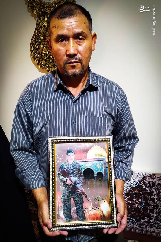 چرا فاطمیون پدر شهید مدافع حرم را کمک نکردند؟! + عکس