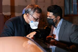عکس/ بازدید وزیر جدید بهداشت از بیمارستان مسیح دانشوری