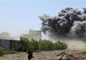 حملات راکتی و توپخانهای متجاوزان سعودی به یمن