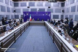 عکس/ نشست رئیسجمهور با سران عشایر خوزستان