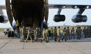 بازگشت نظامیان آذربایجانی از افغانستان به باکو