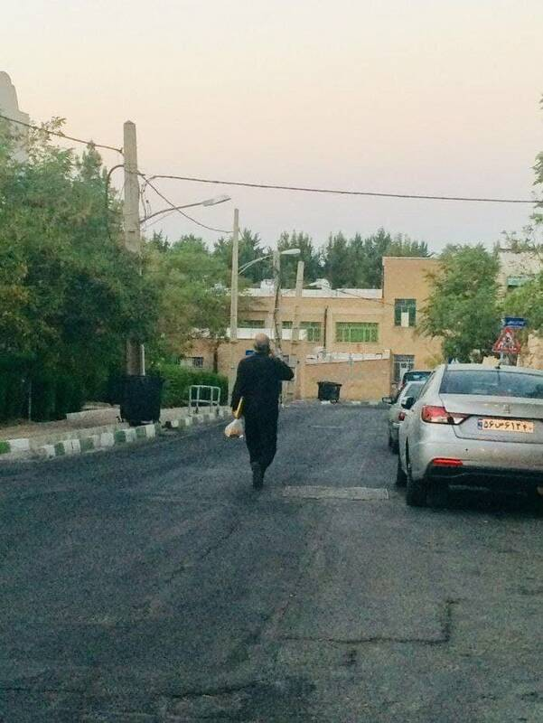 وزیری که با پوشه و مشما میره وزارتخونه +عکس