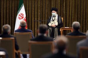 دیدار رئیسجمهور و اعضاء هیئت دولت با رهبرانقلاب