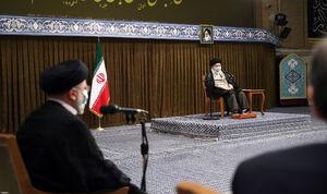 عکس/ دیدار رئیس جمهور و هیات دولت با رهبرانقلاب