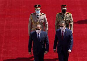 عکس/ السیسی وارد عراق شد