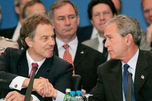 فیلم/ بوش و تونی بلر عامل مرگ میلیونها افغان