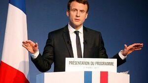 مکرون: فرانسه در حال مذاکره با طالبان است