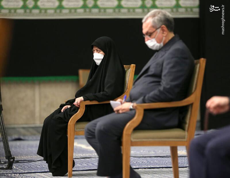 عکس/ تنها زن حاضر در دیدار هیات دولت رئیسی با رهبر انقلاب کیست؟