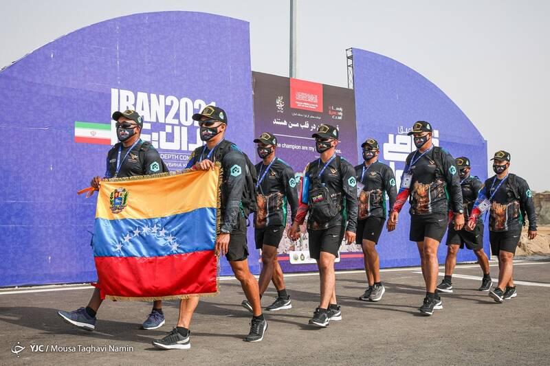مسابقات غواصی ارتشهای جهان - بندرکنارک