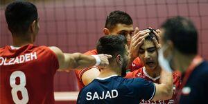 نایب قهرمان اروپا مقابل ایران زانو زد