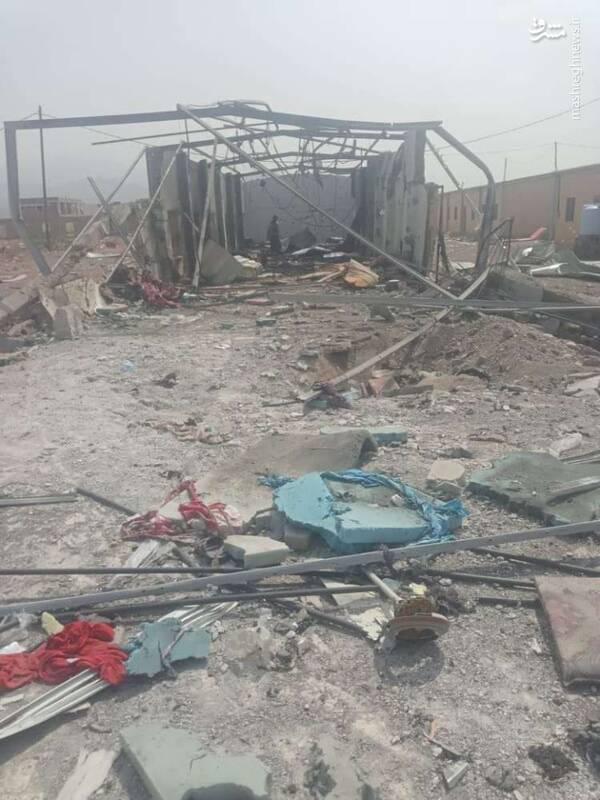 موشک بالستیک نقطهزن یمنی اردوگاه مزدوران اماراتی را به آتش کشید/ پاسخ محکم ارتش یمن به تهدیدات جدید ریاض و ابوظبی +فیلم و تصاویر