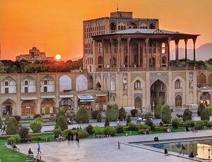 عکس/ نمایی از عالی قاپو اصفهان
