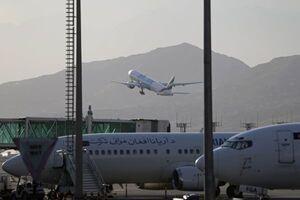 فیلم/ نخستین پرواز مسافربری در «قندهار» پس از تسلط طالبان
