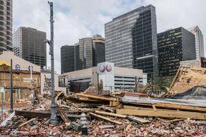 ویرانیهای طوفان آیدا در لوئیزیانا +عکس