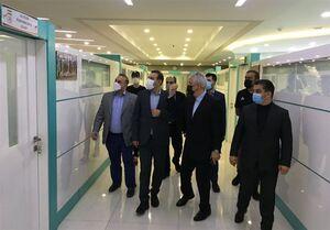 بازدید وزیر ورزش از مرکز ملی فوتبال ایران