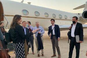 هیأتی از سناتورهای آمریکا وارد لبنان شدند
