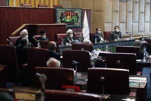 پایان غیبت 4 ساله رئیس جمهور در جلسات مجمع تشخیص مصلحت نظام +عکس